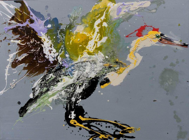 L oiseau et la mer qunce zeng boutique galerie d 39 art for Art contemporain artistes
